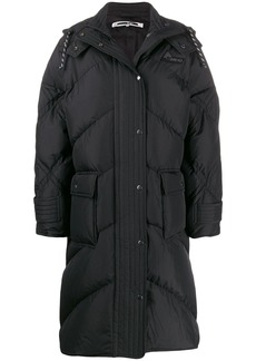 McQ Alexander McQueen padded hooded coat