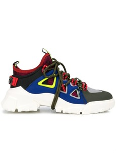 McQ Alexander McQueen panalled chunky sneakers