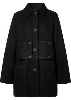 McQ Alexander McQueen Paneled Wool-felt Coat
