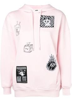 McQ Alexander McQueen patch detail sweatshirt