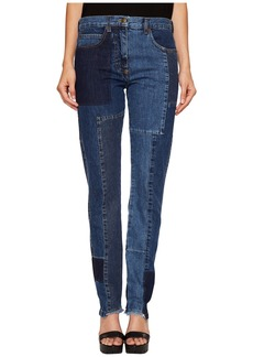 McQ Alexander McQueen Patched Patti Jeans