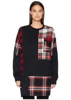 McQ Alexander McQueen Patched Tunic Sweatshirt