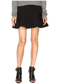 McQ Alexander McQueen Peplum Mini Skirt