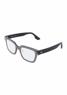 McQ Alexander McQueen Plastic Rectangle Unisex Optical Glasses