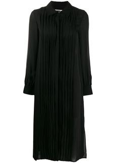 McQ Alexander McQueen pleated shirt dress