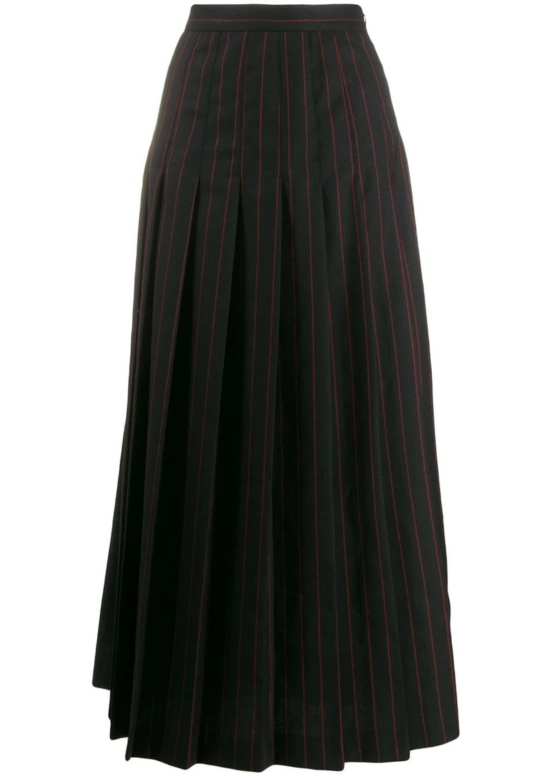 McQ Alexander McQueen pleated skirt