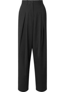 McQ Alexander McQueen Pleated Twill Straight-leg Pants