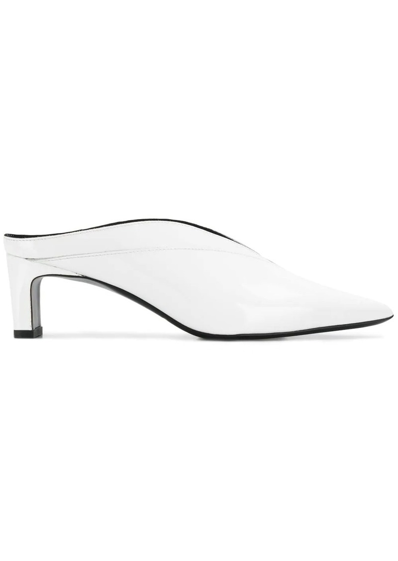 McQ Alexander McQueen pointed toe mules