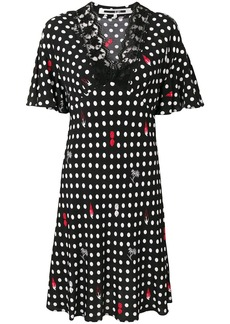 McQ Alexander McQueen polka dot dress