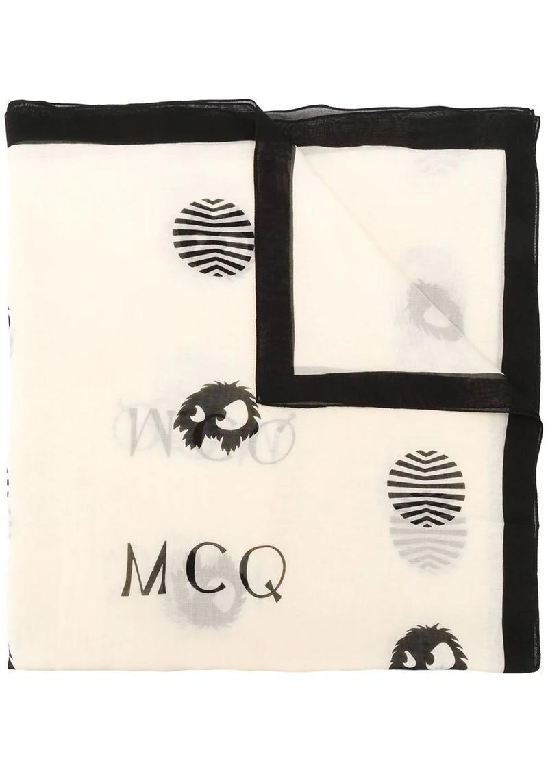 McQ Alexander McQueen polka dot scarf