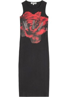 McQ Alexander McQueen Printed Cotton Dress