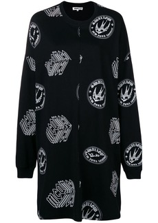 McQ Alexander McQueen printed sweatshirt dress