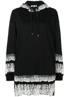 McQ Alexander McQueen printed trim hoodie