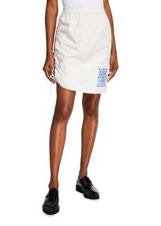 McQ Alexander McQueen Pull-On Toggle Skirt