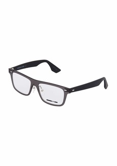 McQ Alexander McQueen Rectangle Plastic Optical Glasses