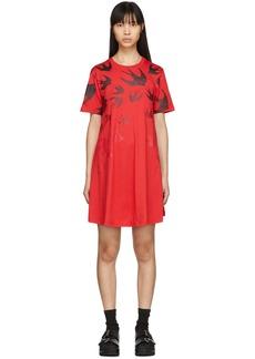 McQ Alexander McQueen Red Swallow Dress