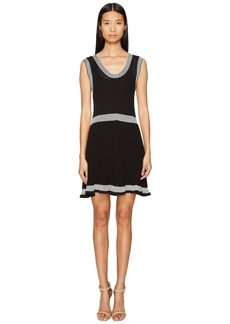 McQ Alexander McQueen Rib Stripe Dress