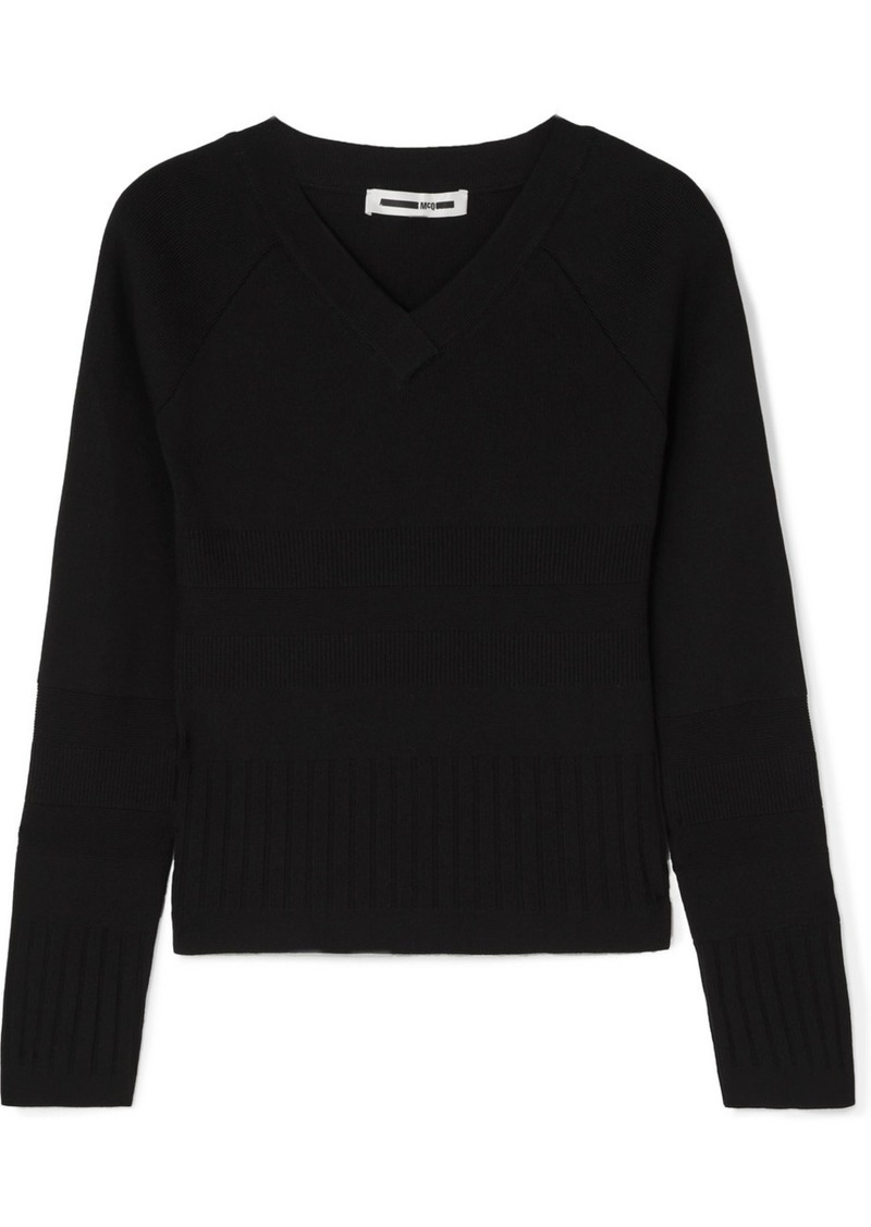 McQ Alexander McQueen Ribbed-knit Sweater
