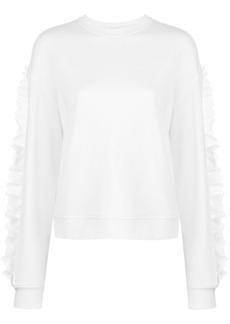 McQ Alexander McQueen ruffle sweatshirt