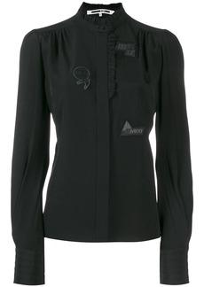 McQ Alexander McQueen ruffle trimmed blouse