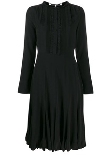 McQ Alexander McQueen ruffled midi dress