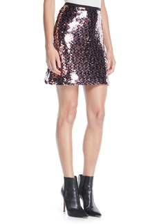McQ Alexander McQueen Sequin Mini-Length Tube Skirt