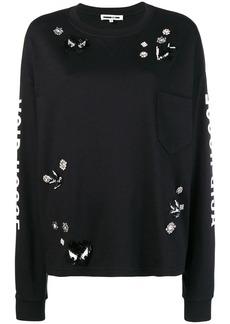 McQ Alexander McQueen shiny detailed sweatshirt
