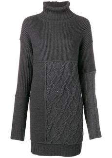 McQ Alexander McQueen short knit dress