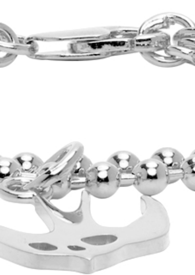 McQ Alexander McQueen Silver Swallow Bracelet