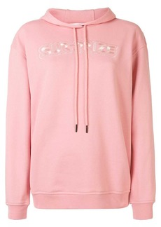 McQ Alexander McQueen slogan embroidered hoodie
