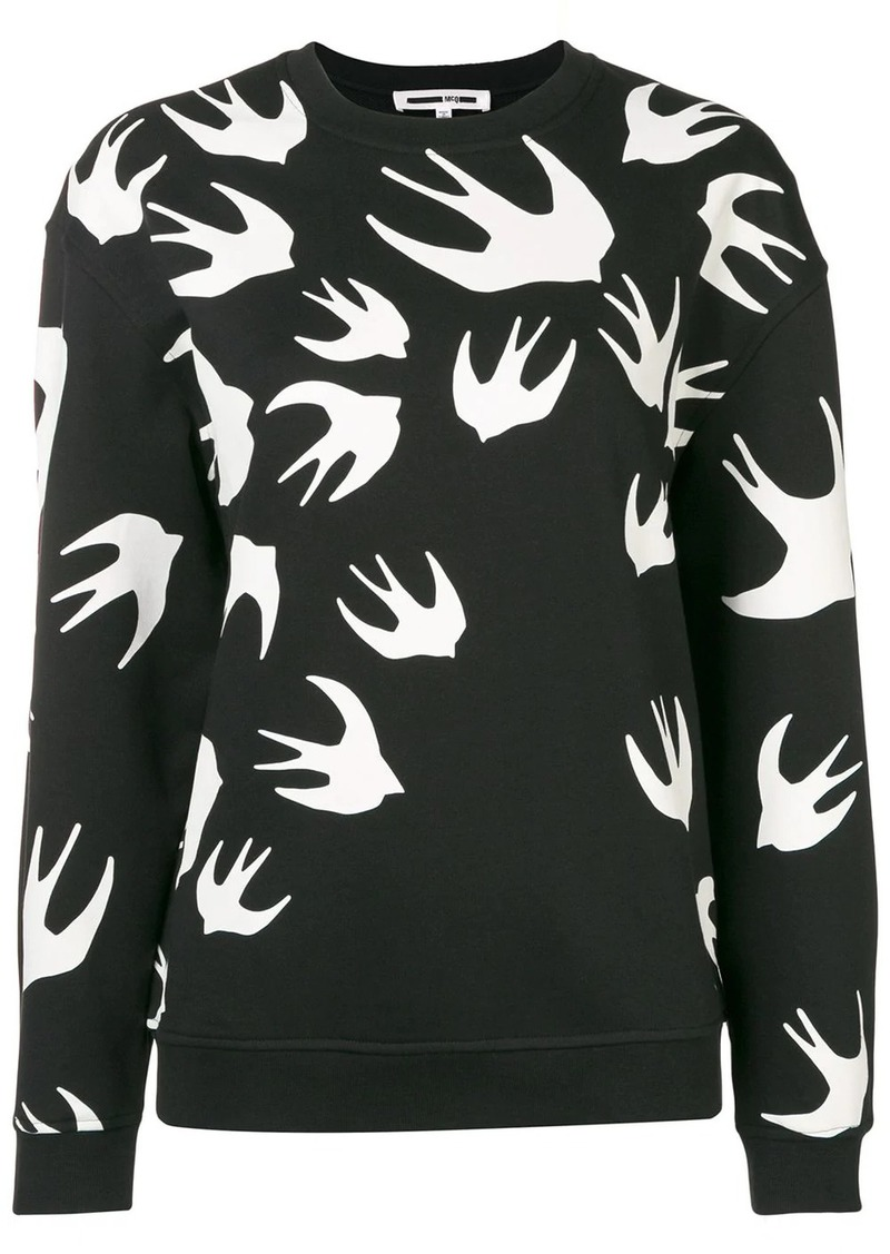 McQ Alexander McQueen sparrow intarsia jumper