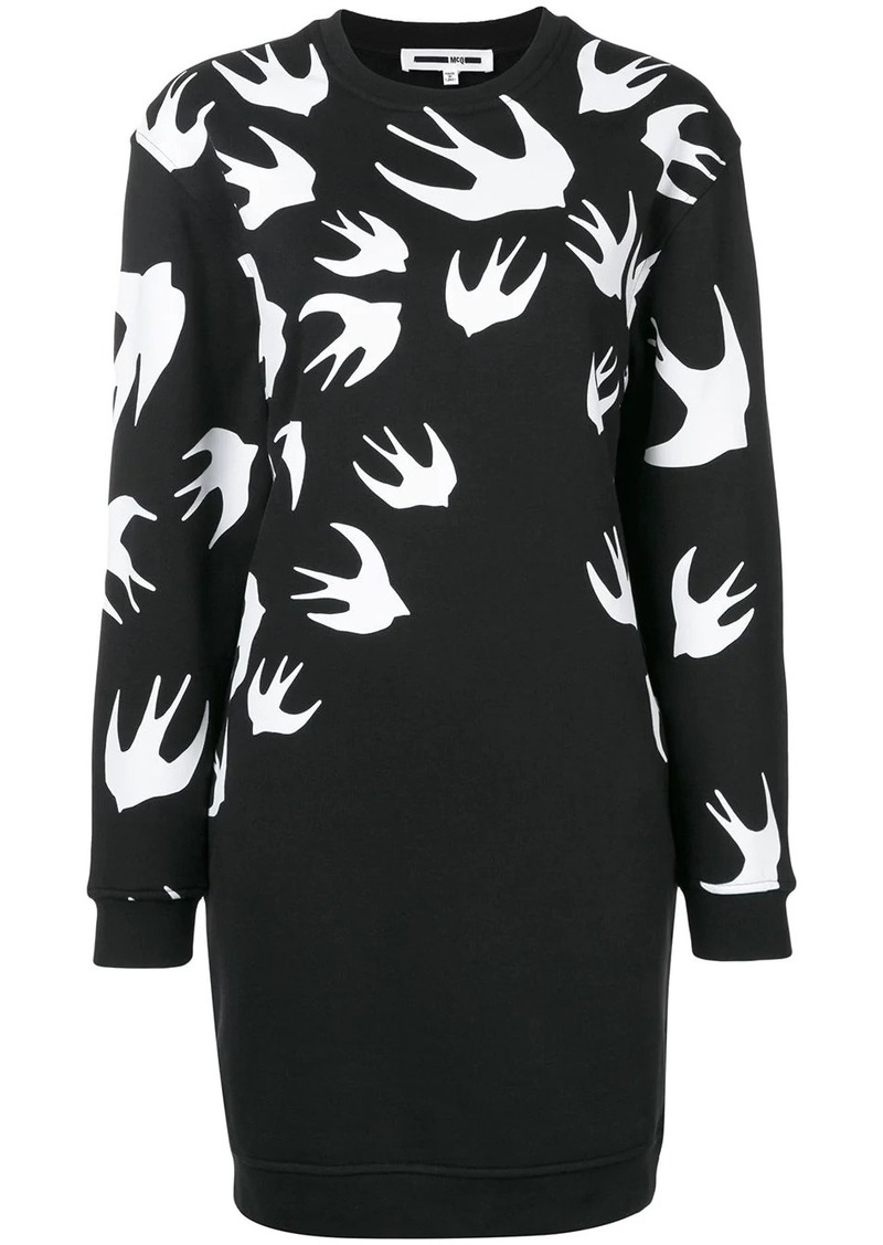 McQ Alexander McQueen sparrow knit jumper dress