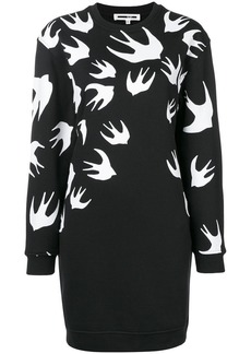 McQ Alexander McQueen sparrow knit jumper dress