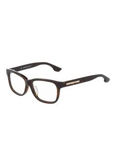 McQ Alexander McQueen Square Plastic Optical Glasses