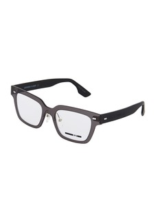 McQ Alexander McQueen Square Plastic Optical Glasses