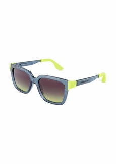 McQ Alexander McQueen Square Plastic Sunglasses