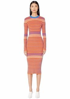 McQ Alexander McQueen Striped Dress