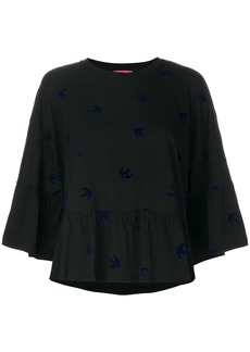 McQ Alexander McQueen swallow blouse