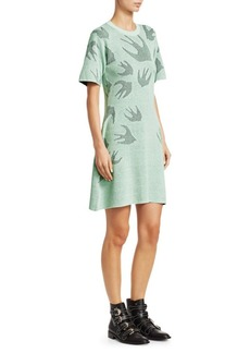 McQ Alexander McQueen Swallow Knit Dress