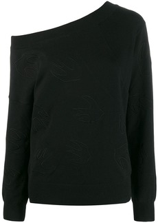 McQ Alexander McQueen swallow logo sweater
