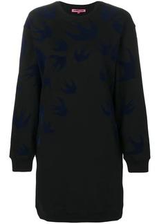 McQ Alexander McQueen swallow sweat dress