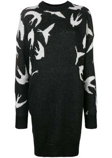 McQ Alexander McQueen swallow sweater dress