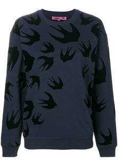 McQ Alexander McQueen swallow sweatshirt