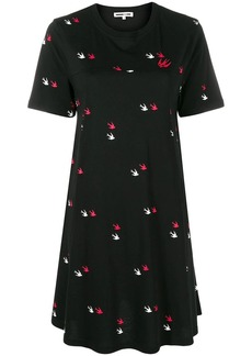 McQ Alexander McQueen Swallow twins T-shirt dress