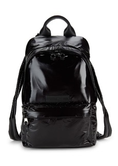 McQ Alexander McQueen Textured Logo Backpack