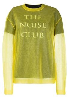 McQ Alexander McQueen The Noise Club jumper
