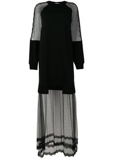 McQ Alexander McQueen transparent style dress
