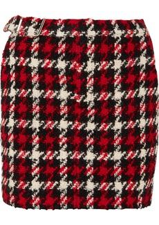 McQ Alexander McQueen Wool-blend Bouclé Mini Skirt