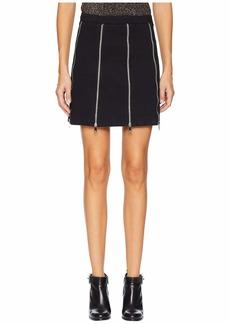McQ Alexander McQueen Zip Skirt