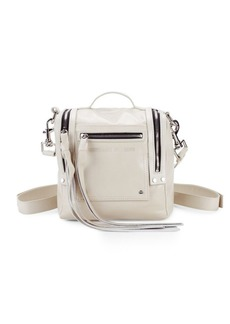 McQ Alexander McQueen Zippered Leather Backpack